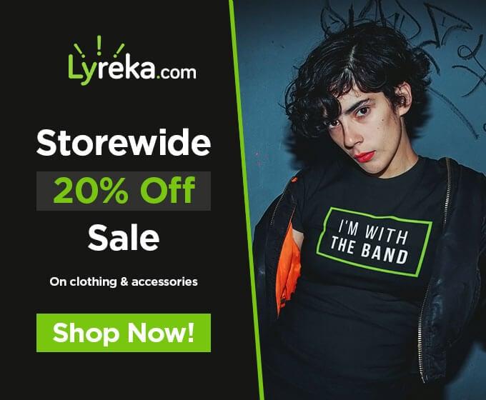 Lyreka Store Promo Banner