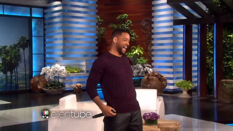 Will Smith on Ellentv.com
