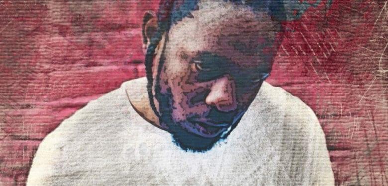 Kendrick Lamar- LOVE. feat. Zacari / DAMN Album Cover