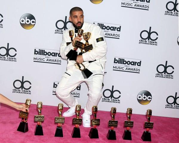 drake billboard awards record