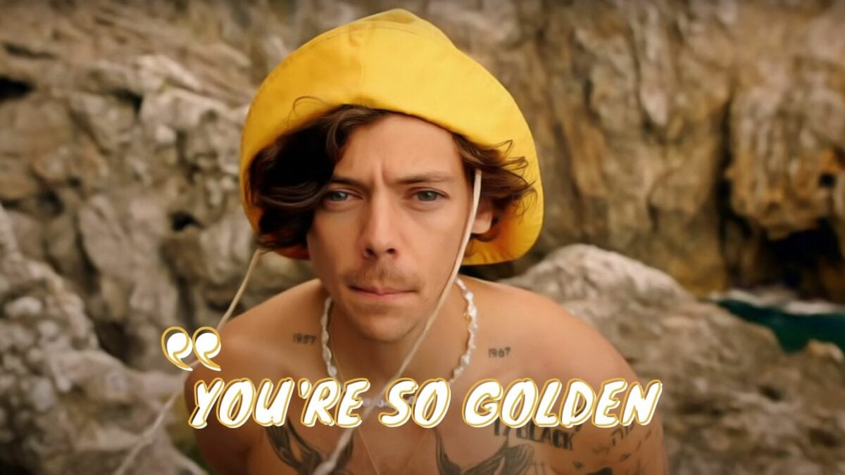 Harry Styles Youre So Golden