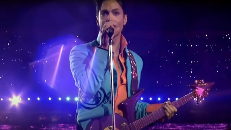 prince performance super bowl half time show