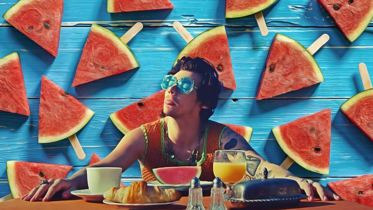 Harry Styles Watermelon Sugar Cover