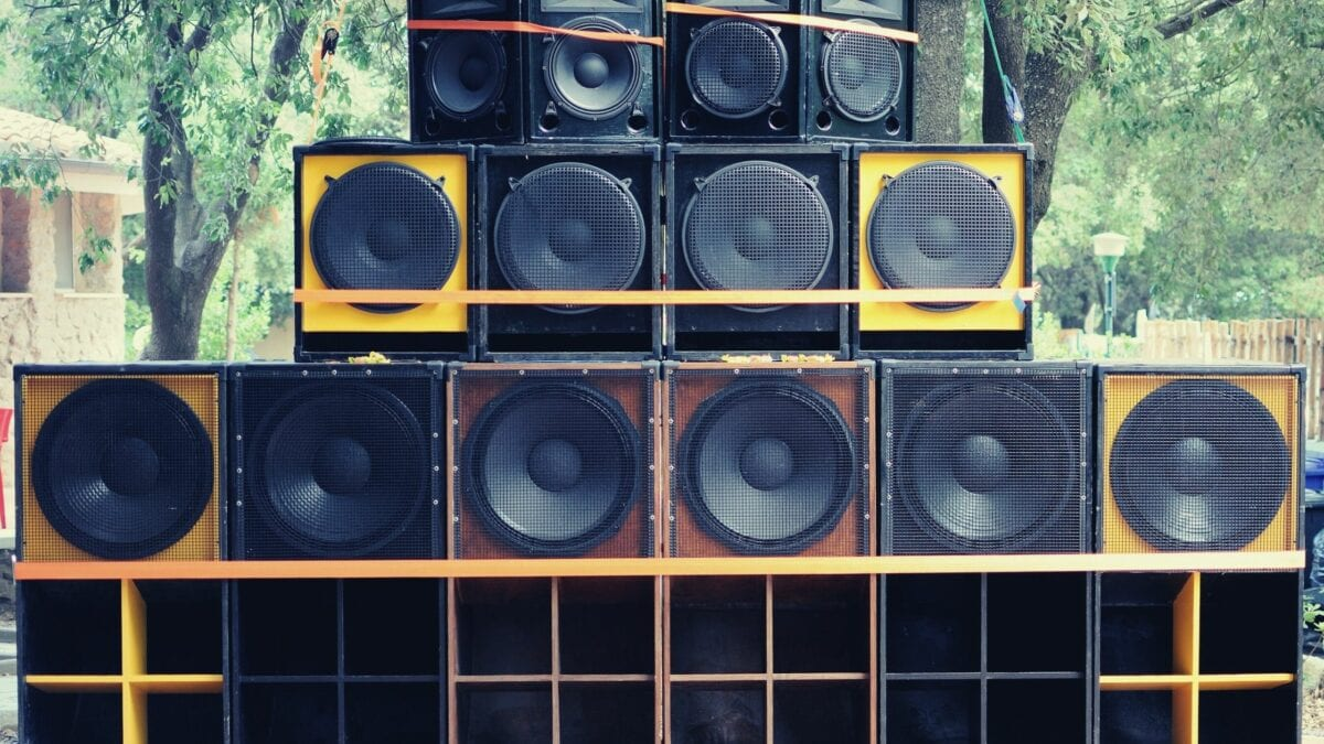 Reggae Dancehall And Hip Hop Speakers
