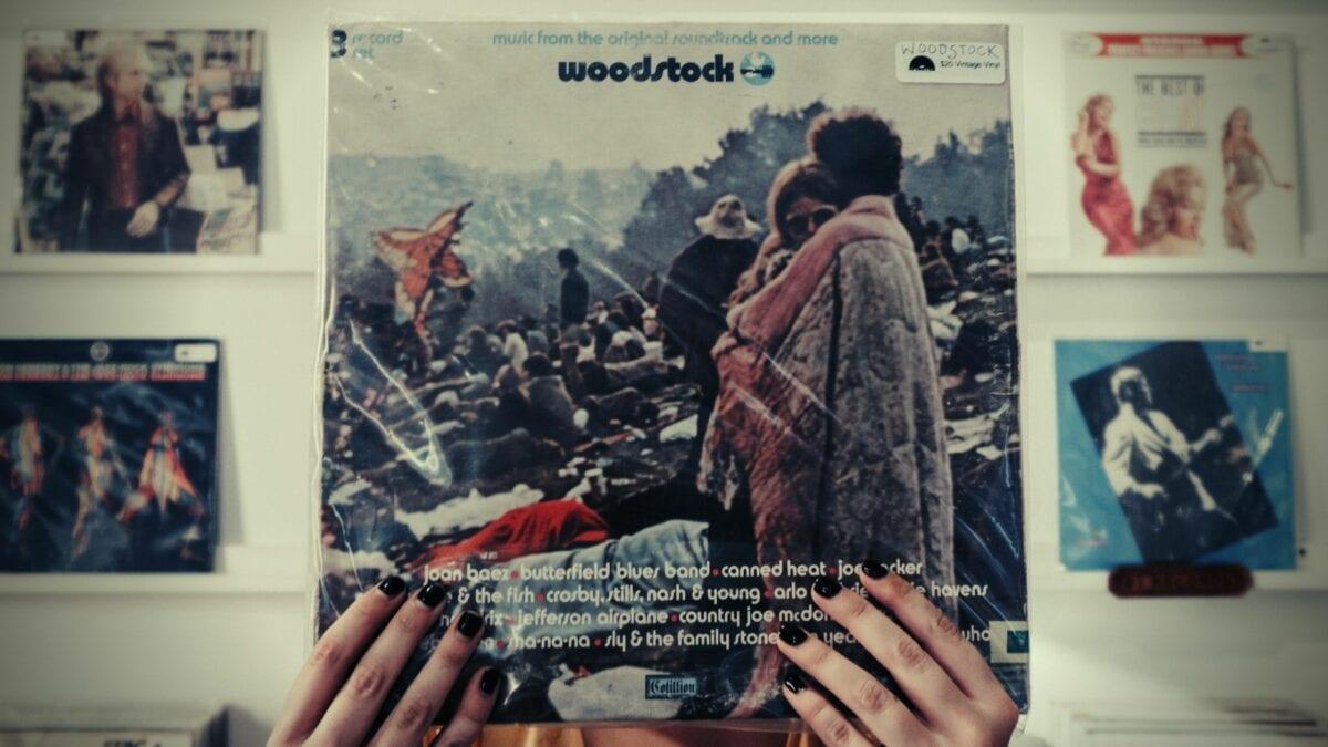 Woodstock Couple On Vintage Vinyl