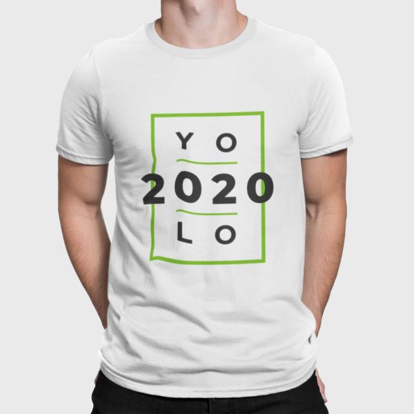 Yolo 2020 T Shirt For Men White