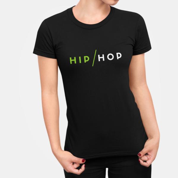 Hip Hop T Shirt For Women Black
